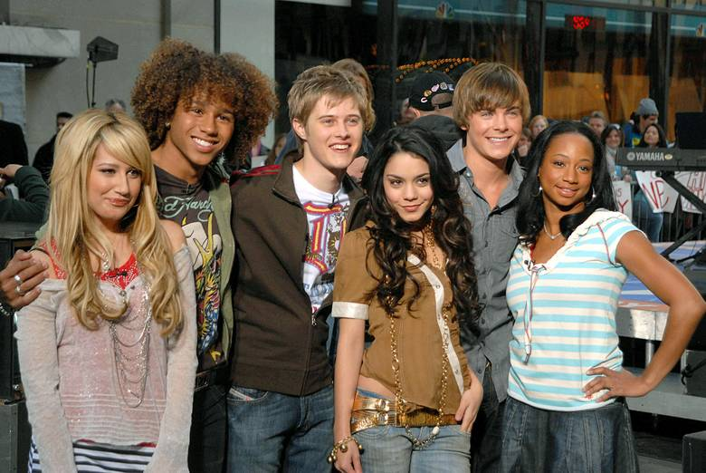 High School Cast Cast High School Musical