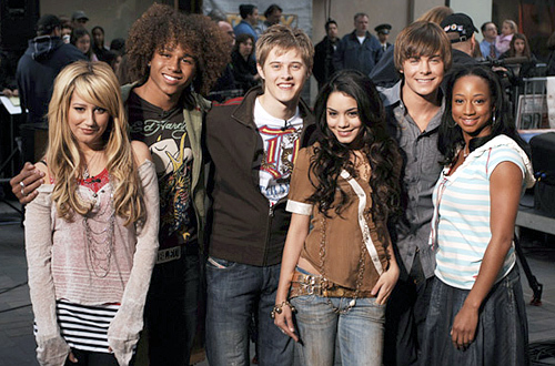 High School Cast Cast High School Musical 2
