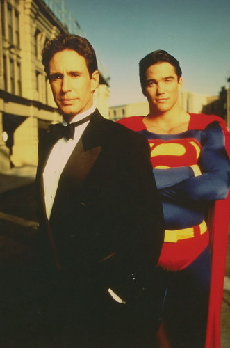 Lois and Clark Hintergrund called Cast