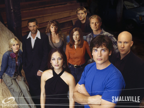 Cast of Smallville - smallville Wallpaper