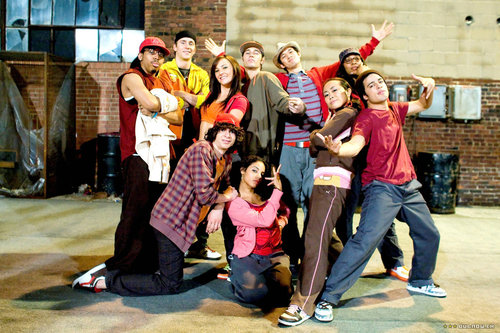 Step Up 2 The Streets wallpaper entitled Cast