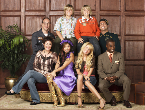 The Suite Life of Zack & Cody দেওয়ালপত্র called Cast