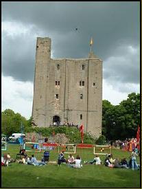 kastil, castle Hedingham