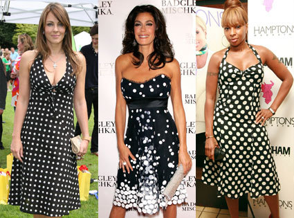 Celebs In Polka Dots