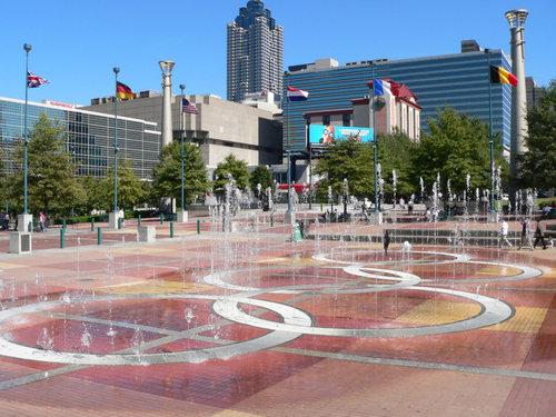 Atlanta fondo de pantalla entitled Centennial Olympic Park