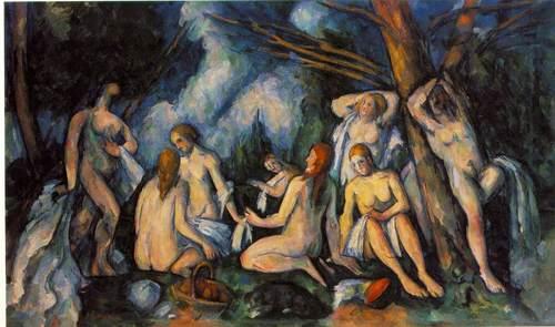 Cezanne. Grandes baigneuses