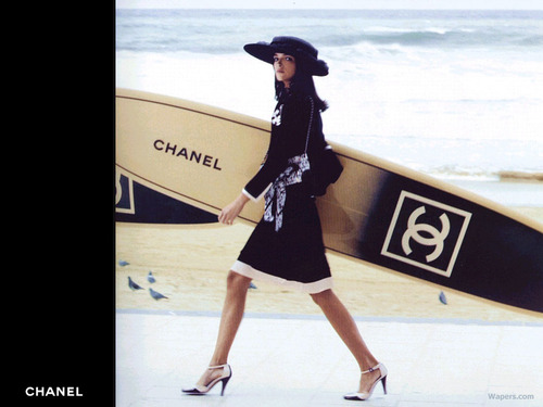 Chanel wallpaper titled Chanel