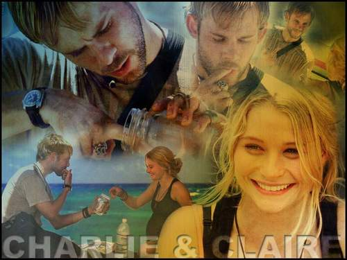 Lost wallpaper entitled Charlie&Claire