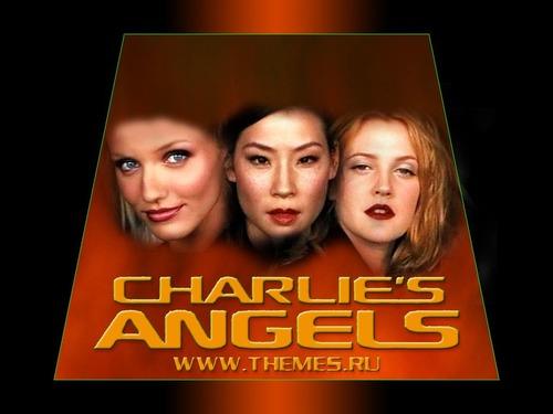 Filem kertas dinding called Charlie's Bidadari