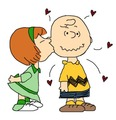Charlie's First Kiss - peanuts fan art