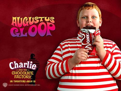 Tim برٹن پیپر وال entitled Charlie&the Chocolate Factory