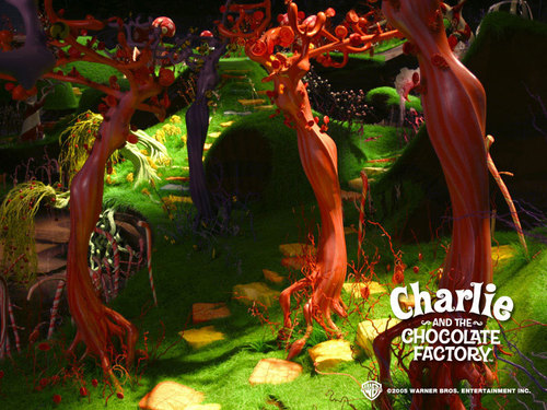 Tim burton achtergrond entitled Charlie&the Chocolate Factory