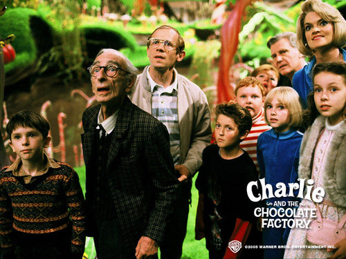 Tim برٹن پیپر وال called Charlie&the Chocolate Factory