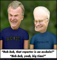 Cheanis and Bush-head - beavis-and-butthead photo