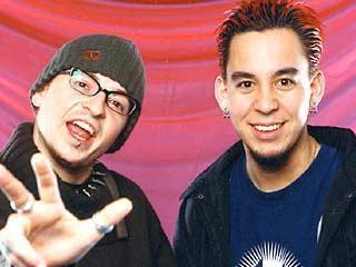 Chester Bennington and Mike