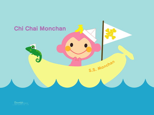 Sanrio wallpaper called Chi-Chai-Monchan