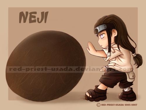 Чиби Фрукты Ninja - Neji
