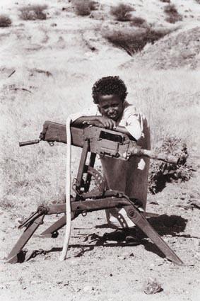 Human Rights karatasi la kupamba ukuta titled Child Soldier