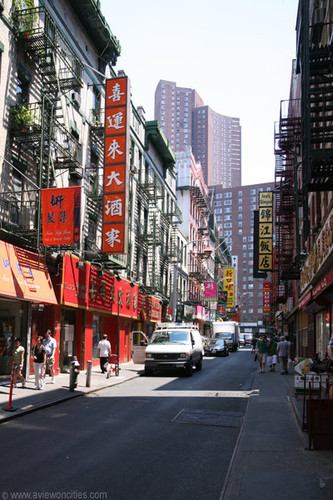 New York wallpaper entitled Chinatown