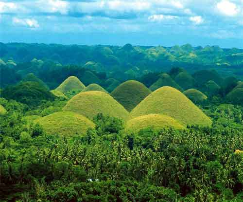 The Philippines wallpaper titled Chocolate Hills, Bohol