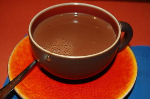 leche con chocolate, chocolate con leche