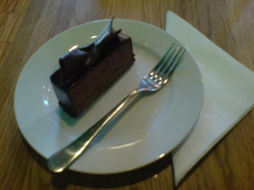 Cioccolato fennel cake