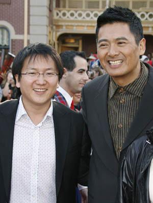 Chow Yun-Fat and Masi Oka