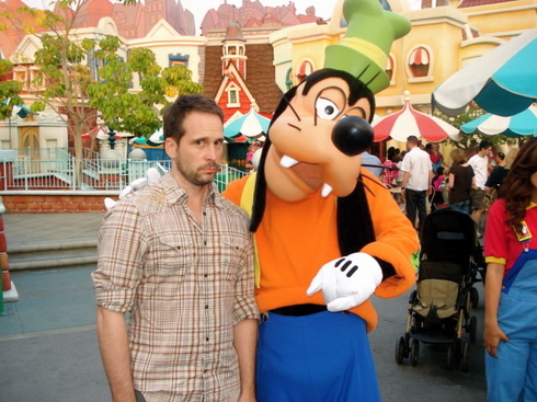 Chris & Goofy