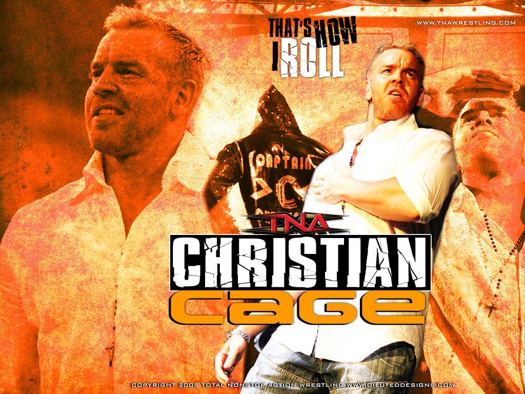 كريستيان المصارع كريستيان كريستيان رهيبة Christian-Cage-tna-w