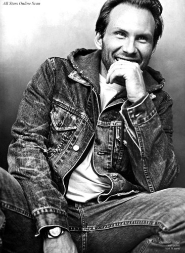 Christian Slater - gap Photo