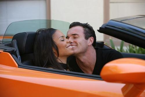 Nip/Tuck wallpaper entitled Christian and Michelle