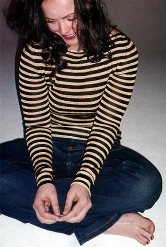 Christina in Nylon