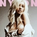 Christina in Nylon - nylon icon