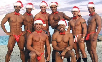 Christmas Hunks - hunks photo