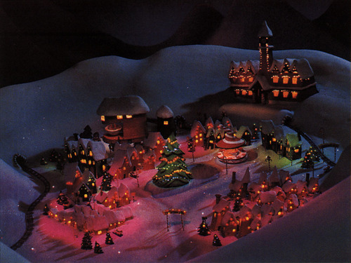 Nightmare Before Christmas wallpaper called Christmas Town