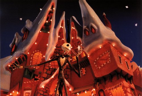 Nightmare Before Christmas wallpaper entitled Christmas Town