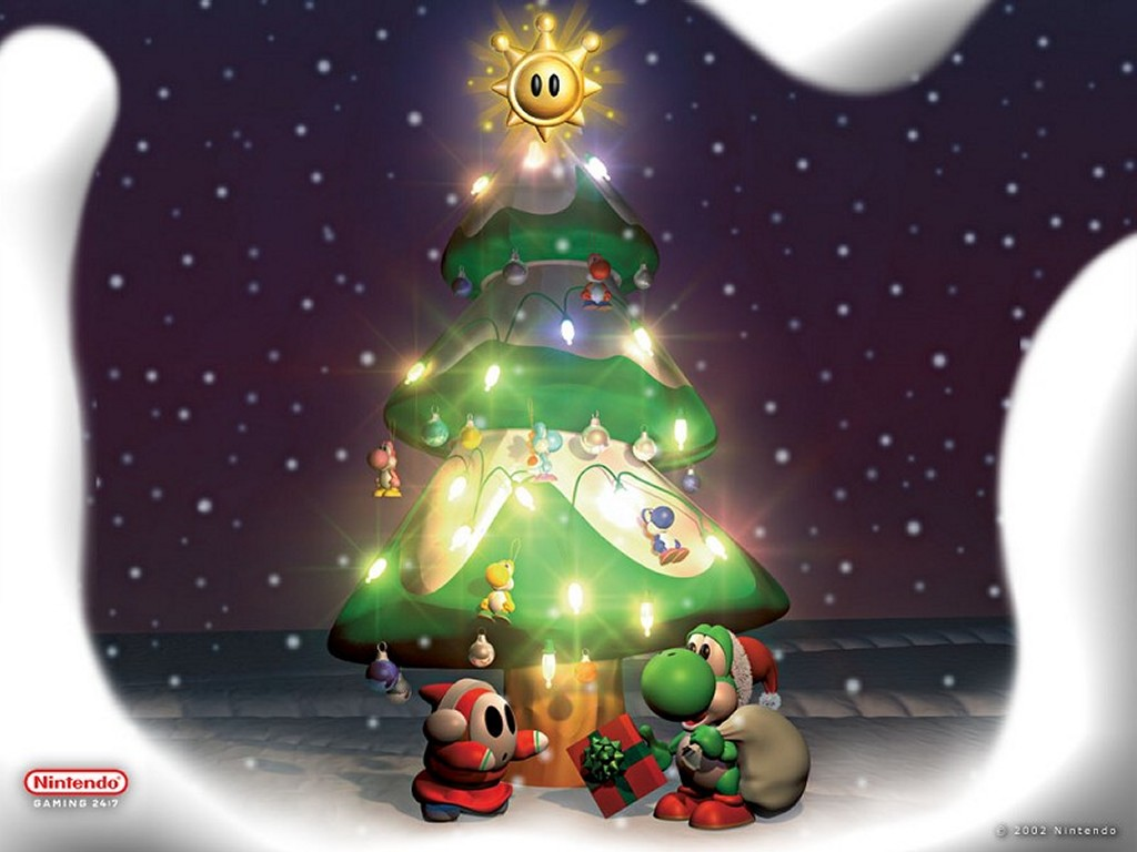 Nintendo images Christmas Yoshi HD wallpaper and background photos ...