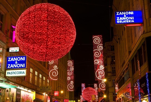 giáng sinh in Vienna