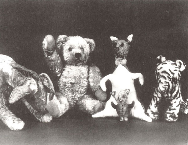 Christopher Robin's Toys
