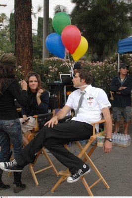 Chuck Behind the Scenes