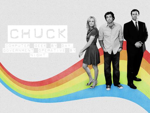 Chuck پیپر وال