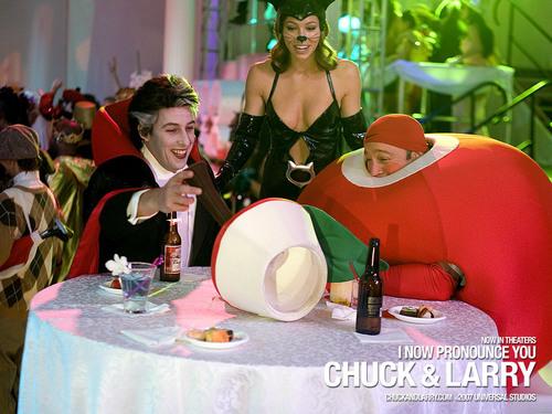 Adam Sandler پیپر وال entitled Chucky & Larry
