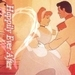 Cinderella and the Prince - disney-princess icon