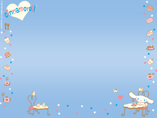 Sanrio wallpaper entitled Cinnamoroll
