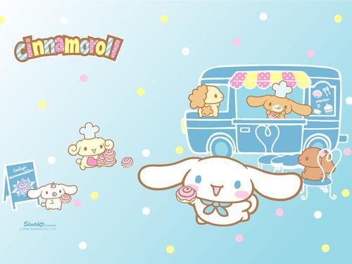 Sanrio wallpaper called Cinnamoroll