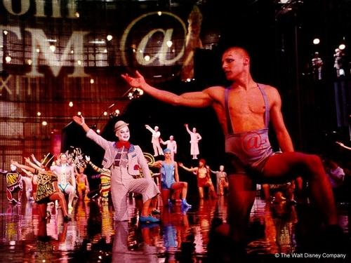 Cirque du Soleil پیپر وال titled Cirque du Soleil: La Nouba