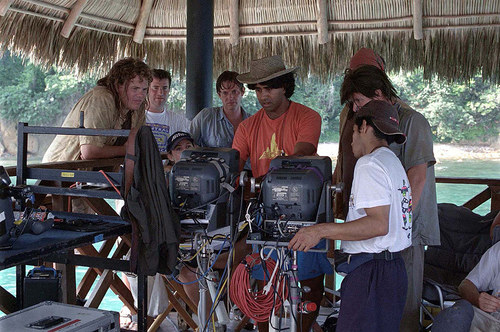 Behind the scenes of Club Dread