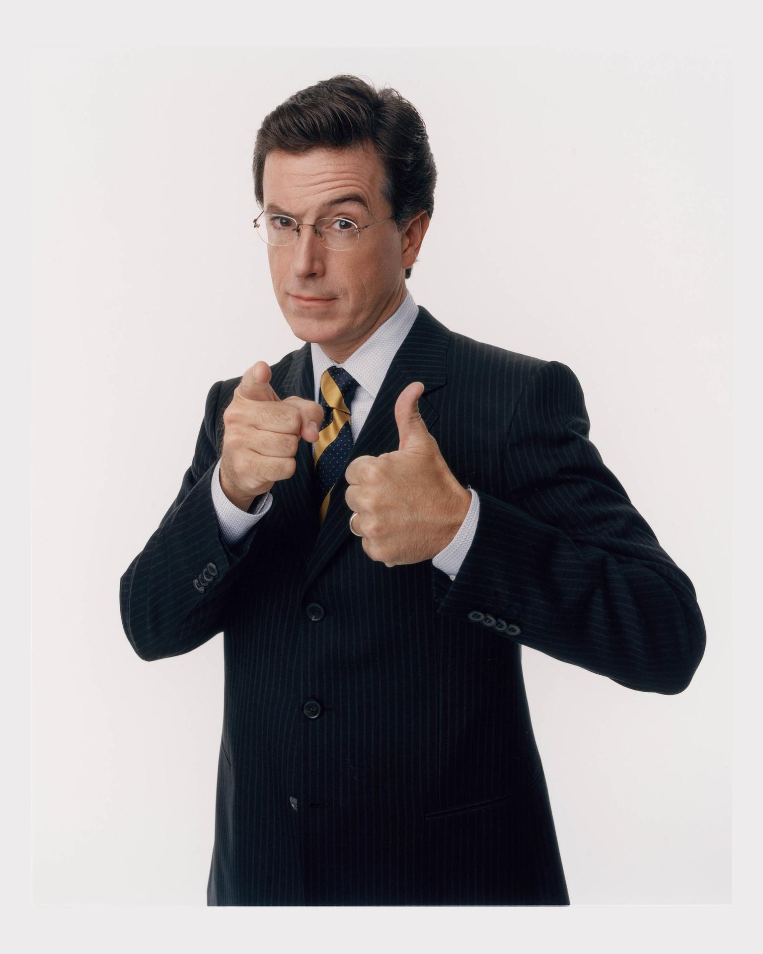 Colbert Report Publicity Shots