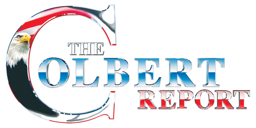 Stephen Colbert wallpaper titled Colbert Report Logo