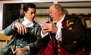 Colbert and Ben Franklin
